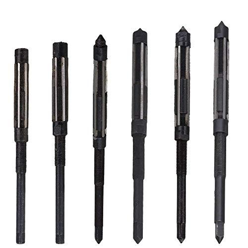 W-Nuanjun-wj 1 STÜCK Einstellbare Handreibahle HSS Größenbereich Alloy Steel Reibahle Handreibahle Maschine Schneidwerkzeug (6,25/6,75/7,25/7,75/8,5/9,25 / 10mm) (Head Diameter : 7.75 8.5)