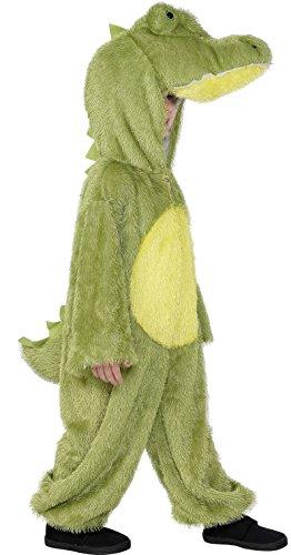 Imagen de smiffys 30777  disfraz de cocodrilo para niños 4 6 años