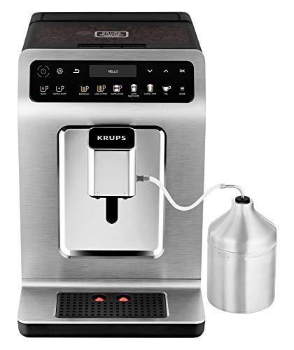 Krups EA894T Evidence Plus Kaffeevollautomat, 1450, Titanium-metallic