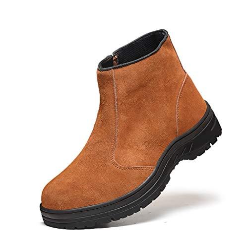 Scarpe antinfortunistiche tendine del manzo bottom work scarpe antinfortunistiche scarpe da trekking labor insurance training bassa usura su tela scarpe antiscivolo per cantieri stivali da lavoro