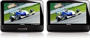 Philips PB9011/37 Lecteur Blu-Ray Noir, Argent lecteur Blu-Ray - lecteurs Blu-Ray (Noir, Argent, Lecteur Blu-Ray, BD-ROM,CD,DVD,DVD+R,DVD+RW,DVD-R,DVD-RW, Dolby Digital,DTS, DIVX,H.264,MPEG2, AAC,MP3,PCM)