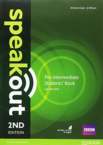 Speakout 2nd Edition Extra Pre-Intermediate Students Book/DVD-ROM/Workbook/Study Booster Spain Pack por Antonia Clare