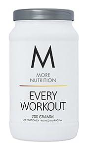 More Nutrition Every Workout Booster. Wach & Fokussiert Bei Jedem Training. Für Bodybuilding Und Kraftsport 1 x 700g (Mango Maracuja)