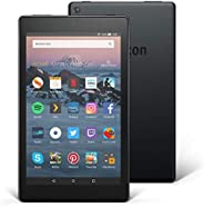 """Tablette Fire HD 8 Reconditionné Certifié, écran HD 8"""" (20,3 cm), 16 Go (Noir) - avec offres spéciales (8"""