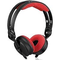 Los cojinetes de reemplazo Zomo Polster / almohadillas para los auriculares Sennheiser HD 25, Rojo