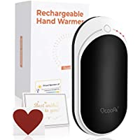 OCOOPA Hand Warmers, Rechargeable Hand Warmer 5200mAh Power Bank, Electric Portable Pocket USB Warmer, Heat Therapy Great for Outdoor Sports, Winter Gifts for Women, Men