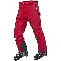 Trespass, Pantaloni da sci Uomo Provision, Rosso (Red),