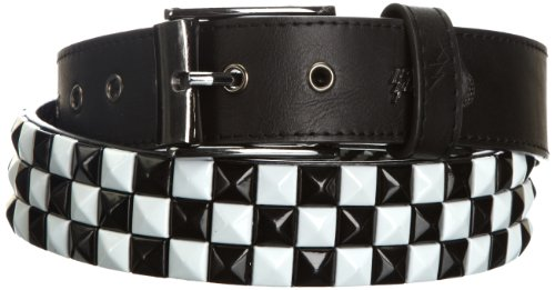 Lowlife Thrash Reversible Leather Belt in White