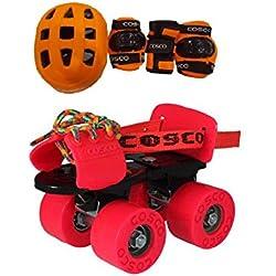 Cosco Zoomer Skates and Protective Kit ( Junior )