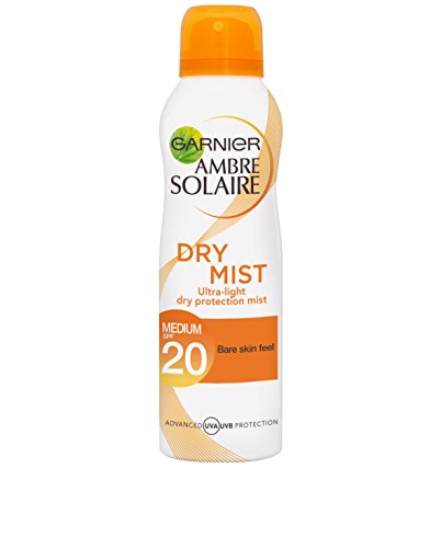Ambre Solaire Dry Mist Sun Cream Spray SPF20 200ml