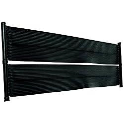 Placas calefactoras para piscina de well2wellness®, calefacción solar para piscina, 6,0x 0,6m, 3 vías, con accesorios