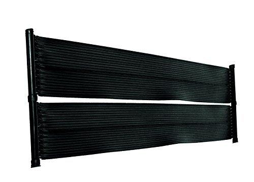 well2wellness® Eco Pool Solar Set Solarmatte Solarheizung \'Power\' 6,0 x 0,6 m Plus 3-Wege Solarweiche + Zubehör
