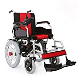ENVIGF Electric Wheelchair, Compact Mobility Aid Wheel Chair, Lightweight Folding Electric Wheelchair, 360° Joystick,Weighs Only 112 Lbs With Battery - Supports 220 Lb