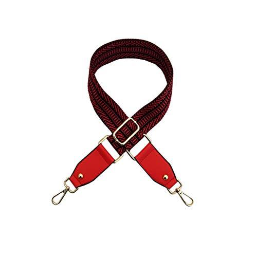 Umily Tracolla da donna larga 3.8 cm con tracolla regolabile All-match Canvas strap per borse Borsa a tracolla con tracolla 80-125cm Lunghezza