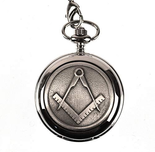Masonic Pocket Watch - Plain (Watch Plain Pocket)