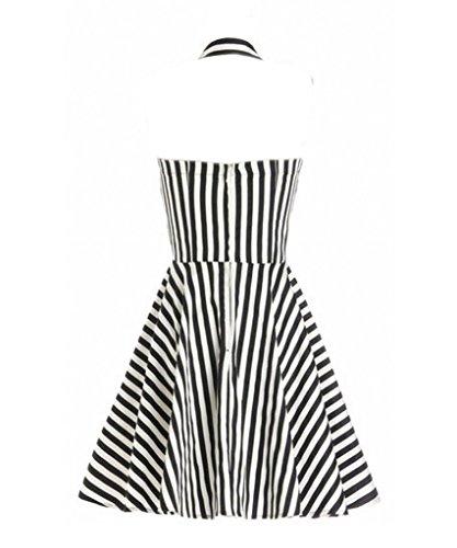 Eyekepper Robe cocktail Femme / demoiselle - Robes Vintage 1950 Blanc