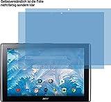 2X Crystal Clear klar Schutzfolie für Acer Iconia One 10 B3-A40 Displayschutzfolie Bildschirmschutzfolie Schutzhülle Displayschutz Displayfolie Folie