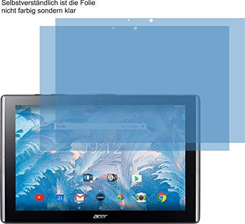 2X ANTIREFLEX matt Schutzfolie für Acer Iconia One 10 B3-A40 Bildschirmschutzfolie Displayschutzfolie Schutzhülle Bildschirmschutz Bildschirmfolie Folie