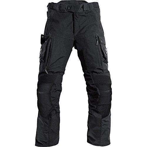 Motorradhose Pharao Reise Leder-/Textilhose 1.0 schwarz XXL (1-reise-hose)