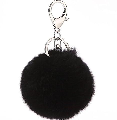 YAAGLE Handtaschenanhänger Tasche Dekor Weich Ball Elegant Dekorationen
