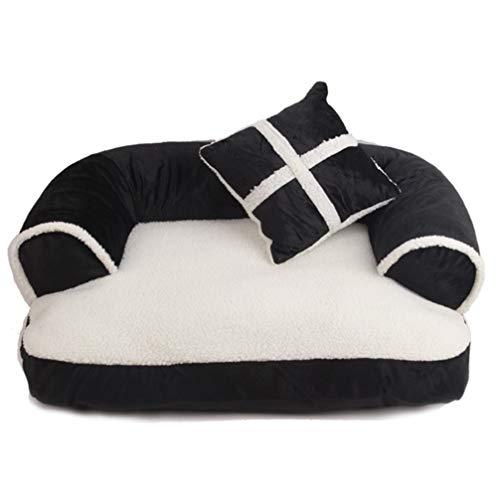 LA VIE Cama Sofá Mascotas Lavable Extraíble Almohada