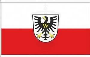 Königsbanner Hissflagge Bad Windsheim - 120 x 200cm - Flagge und Fahne