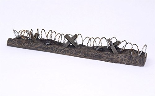 Wargaming WWG Barbed Wire Defensive Position Pre-Painted x 15