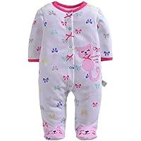 Fangcheng Recién Nacido Bebé Ropa Bebés Bebé Pijama Overoles Monos Bebes Subir Ropa ...