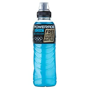 Powerade Ion4 Berry and Tropical Flavour 500 ml (Pack of 12)