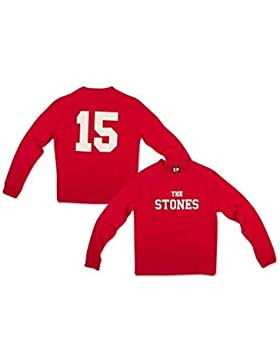 THE ROLLING STONES - Z ipcode rojo - Oficial Hombre Jersey (Jersey)