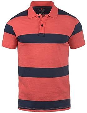 BLEND Fritz Herren Poloshirt Kurzarm Shirt mit Polokragen aus 100% Baumwolle