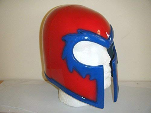 WRESTLING MASKS UK Magneto Helm Cosplay Halloween Monster Kopfmaske X-Men - Magneto X Men Kostüm