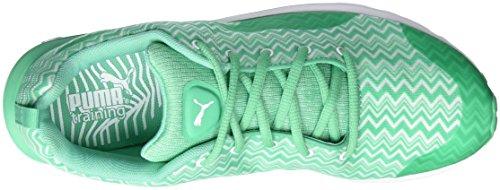 Puma Evader Xt V2 Filtered Wns, Chaussures de fitness femme Blanc - Weiß (white-mint leaf 02)