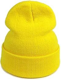b30f570dbee1c World 2 home Dad Hat Female Beanies Hats for Winter Women s Hat Solid Soft  Warm Elasticity Crochet Knitted Unisex Cap Hat Men Women…