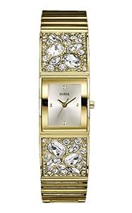 Guess Damen-Armbanduhr Analog Quarz Edelstahl W0002L2