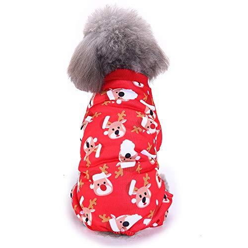 (T-shirt Haustier Hund Timogee Welpen Winter Warm Weste Klein Hunde Kostüme Haustier Kleidung Haustier Weihnachten Pullover)
