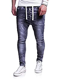 MT Styles Jogg-Jeans Buttons Hose RJ-289