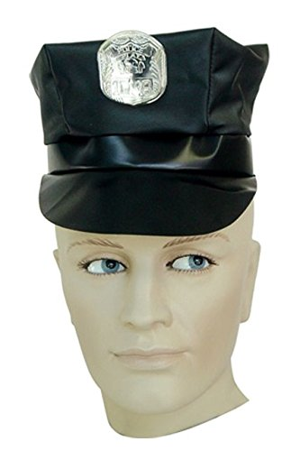 Unbekannt Aptafêtes-Kleine fu300150-Police Officer Cap-One Size Police Officer Cap