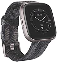 Fitbit Versa 2, Édition Spéciale, Montre Connectée Forme et Bien-Être avec Contrôle Vocal, Score de Sommeil et