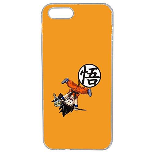 Unbekannt Generique Schutzhülle für iPhone 4 / 4S, Motiv Dragon Ball Manga Z Super Fun Humour