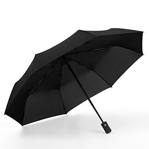LYJZH Regenschirm Taschenschirm - Kompakt, Stabil - Schirm für Reisen & Business Automatisch öffnender winddichter Regenschirm Regenschirm Farbe4 105cm