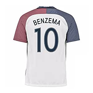 2016-17 France Away Shirt (Benzema 10)