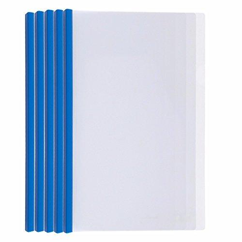 Iv-pole-halter (Fall Ordner Datei Tasche Literatur Inhaber Papier Datei Card Holder 4 Riegel Klammer ziehen die Pole Clip Bürobedarf dicker Transparent Grün Ordner, 310 * 220 * 15 mm ?10 Stk/Set?, blau Transparent)