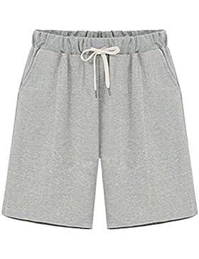 AnyuA Pantaloncini Elastico In