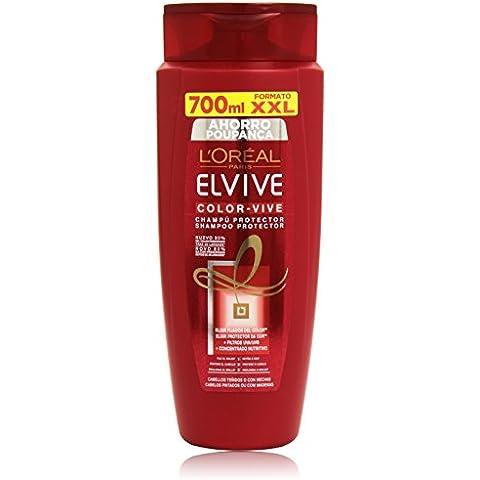 L'Oréal Elvive Color Vive Champú Protector para Cabello Teñido o con Mechas - 70 cl