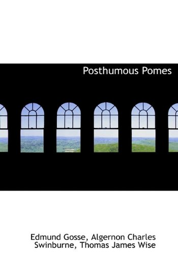 Posthumous   Pomes
