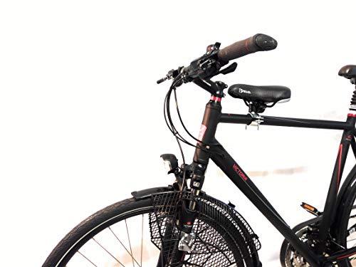 Fahrrad Kindersitz für vornwie zu DDR Zeiten für Damen u. Herrenfahrrad (Herren Gr.3 Ø 50-70mm)