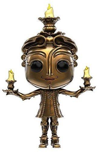 Funko - Lumiere figura de vinilo, colección de POP, seria Beauty & The Beast 2017 (12319)