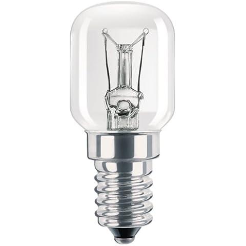 Philips Refrigerator lamp - Lámpara (230 - 240, T25, E14, E, Plata, Transparente)