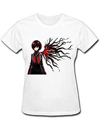 Women's Touka Tokyo Ghoul Fanart T Shirt XXXX-L